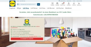LIDL Online-Shop: Die LIDL Vorratsbox