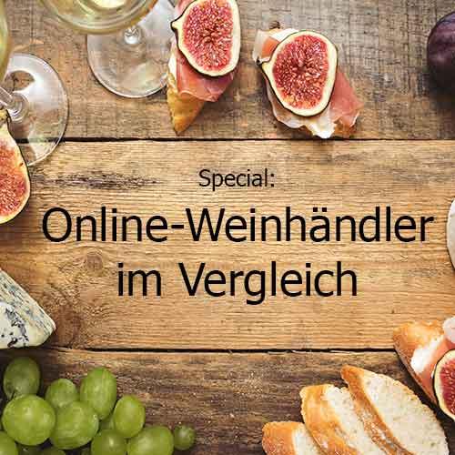 Online-Weinhändler Vergleich